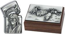 Zippo Indiana Emblem limited Edition in Holzbox NEU 2000961 limitiert  Sammler
