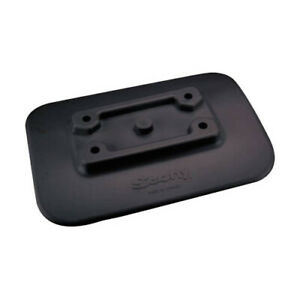 341-BK Scotty Glue-On Mount Pad For Inflatable Boats Black