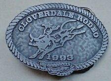 Rodeo Belt Buckle - Cloverdale Rodeo 1993