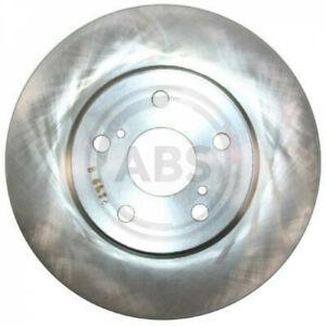 2x A.B.S. 17460 Bremsscheibe Vorderachse passt für Toyota Previa _R3_