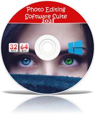 Digital Image Software auf CD Fotografie Photo Editor bearbeiten + Windows 7 8 10
