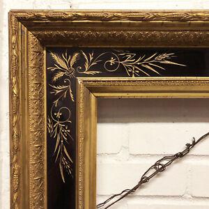 Beautiful Antique LARGE Gilt Victorian Eastlake FRAME