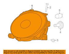 FIAT OEM 12-15 500-Headlight Head Light Headlamp 5182428AE
