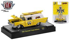 1:64 M2 Machines *MOONEYES* 1957 Chevrolet Sedan Delivery *HOBBY* NIP