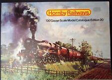 Hornby Railways OO gauge scale model catalogue Edition 20 1974 R280