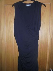 Boden self wrap Rouched Side Dress size 14 reg bnwot-WW067