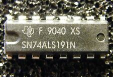 20x SN74ALS191N Synchronous Binary 4-Bit Up/Down Counter with Preset