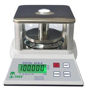 Laboratory Balance 120g x 0.001g KHR120-3 Weigh Scale Digital Tare Portable UK
