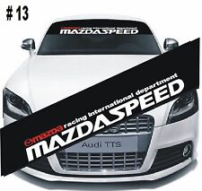Reflective Mazda Speed Windshield Banner Decal Car Sticker High Quality