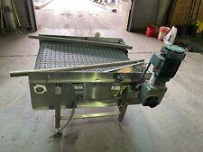 40 X 48 Stainless Steel Packaging Conveyor Table Top