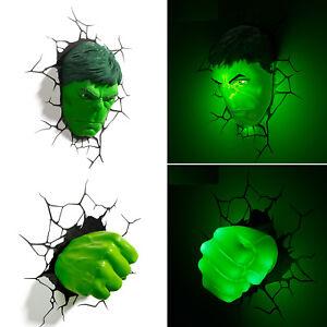 LED Deckenlampe Wandlampe Kinderzimmerlampe Hulk 1