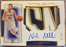 2019-20 National Treasures Rookie *SICK PATCH 2 letter* RPA Nicolo Melli  /49
