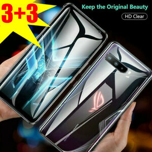 For Asus ROG Phone 5 /3 ZS661KS Soft Hydrogel Film Back + Front Screen Protector