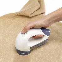 Large Clothes Bobble Fluff Lint Remover Shaver Fuzz Off Fabric Jumper Carpet JL