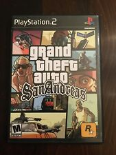 Grand Theft Auto Gta: San Andreas (PlayStation 2, Ps2 2004) W/ Original Case