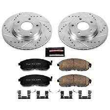 Power Stop Front Z23 Evolution Sport Brake Kit for 13-18 Nissan Sentra