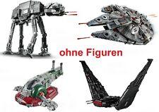 LEGO Star Wars AT-AT, Millenium Falcon, Slave 1, Kylo Shuttle NEU 75288 56 57 43