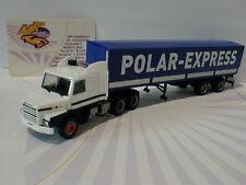 "Herpa 307512 - Scania 142 Hauber 6x4 Planen-Sattelzug "" Polar Express "" 1:87"