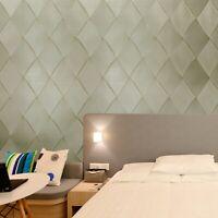 Modern Wallpaper yellow brass gold metallic textured diamond geometric 3D lines