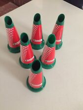 Castrol Plastic NOS Oil Bottle Tops X 6