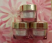 ESTEE LAUDER Resilience Lift Firming Sculpting Face & Neck Creme Day 15 ml x 3