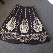 Black Sequin Skirt, Size 12