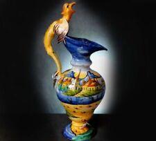 Unboxed Earthenware Antique Original European Art Pottery