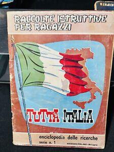 ALBUM FIGURINE  FOL-BO TUTTA ITALIA NON COMPLETO,OTTIMO