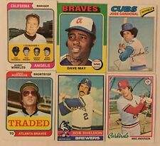 1974 1976 1977 1978 Topps Baseball Cards Complete Your Set Lot U Pick 10