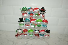 Christmas Concert Snowmen Wireless 3 Sections by Hallmark 2014 Mint