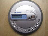 Panasonic SL-SV550 Portable CD Player MP3 FM/AM Radio