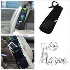 Multi-Use Black Auto Seat Chair Side Storage Net Pocket Hanging Organizer Phone
