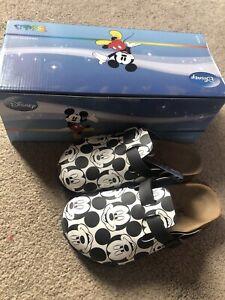 Disney Birkenstocks Birki's Mickey Mouse All Over Print Sandals Size 13 UK