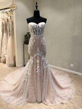 Sexy Mermaid white/ivory wedding dress custom size 2-4-6-8-10-12-14-16+++++
