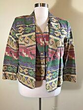 WILLOW RIDGE Vest (XL) BEDFORD FAIR Jacket Blazer (18) 2 Pc. Southwestern Style