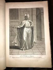 1714. NATIONS DU LEVANT. 92 GRANDES PLANCHES DE COSTUMES.