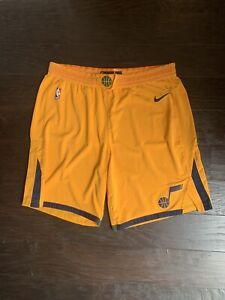 Authentic Nike Aeroswift NBA Utah Jazz Shorts - Size 46