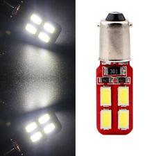 10X 12V BA9 T4W 64132 BA9s H6W 5730 8 SMD LED Canbus Error Free Car Side Lights