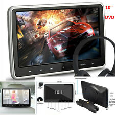 "10"" Ultra HD TFT Headrest DVD Player Car SUV Multimedia Headrest Monitor w/ HDMI"