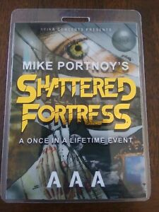 Mike Portnoy Dream Theater Shattered Fortress Backstage Pass Laminate RUSSIA