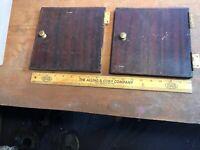 Vintage Victor Victrola PHONOGRAPH Doors -hinges- Knobs