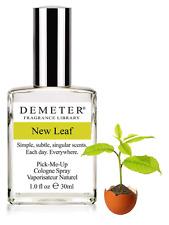 Demeter Fragrance 'New Leaf' Eau de Toilette 1oz Glass Bottle Perfume NEW