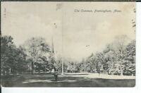 CG-079 MA, Framingham, the Common Divided Back Postcard Lindhal