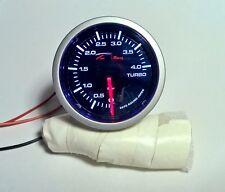 Manometro turbo Depo Racing 0+4 bar ottimo per motori turbo diesel