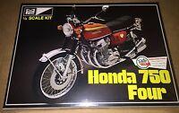 MPC Honda 750 Four Motorcycle 1/8 motorcycle model kit new 827