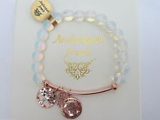 RAINBOW MOONSTONE BRACELET Live Laugh Love STERLINA MILANO MESSAGE/SENTIMENTS