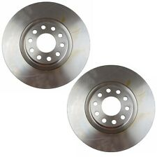 For Audi A6 Quattro S6 Pair Set of 2 Front 320mm Vented Disc Brake Rotors Brembo