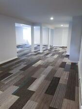 "Biscuit's Plank Carpet Tiles (Gray Family) 20 Tiles 54 Sqft 39.4"" x 9.75"""