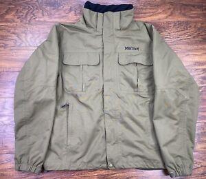 marmot jacket large green