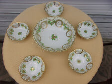 Vintage Antique Nippon Handpainted 6 Piece Berry Set